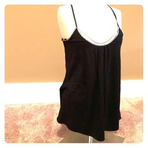 White House Black Market chain link cami